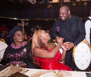 Yesterday Dj Cuppy celebrated her 27th birthday also launched her foundation named Cuppy Foundation in which her father, Billionaire Femi Otedola donated 5 Billion Naira. Top Businessmen, Businesswomen, politicians like Dangote, Osinbajo, Dele momodu,Linda ikeji, and others all came out for the launching in Transcorp Hilton Abuja yesterday. See photos below…