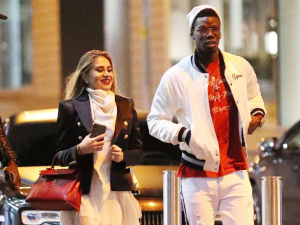 "Manchester United midfielder Paul Pogba and his girlfriend Maria Salaues were seen listening to Burna Boy's song ""Gbona"" from the Africa Gaint Album which was released on July 2019, through Spaceship Entertainment."