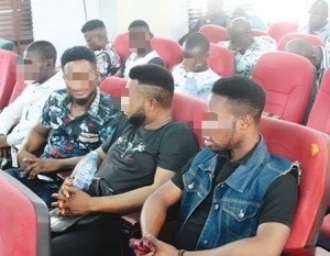 The police in Lagos State have arraigned 47 men before a Federal High Court for allegedly engaging in amorous gay sexual relationships. The defendants were arraigned at about 4.12 p.m. on Wednesday on a one-count charge of engaging in a gay relationship.