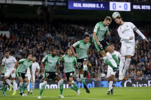 """Real Madrid captain Sergio Ramos has reacted to the 0-0 draw against Real Betis in the La Liga as they blew the opportunity to top the La Liga table. Ramos advance to the centre forward position in a bid to help the team get a goal but the host lack the composure in the final third. """"We have a bittersweet taste, the truth was that today was a great opportunity to become league leaders,"""" Ramos explained in a post-match interview with Movistar. """"We haven't taken advantage of the other results.""""The team fought very hard, but in front of goal we weren't successful and we paid for that.""""Real Madrid will entertain to Galatasaray in their next match in the Champions League in the midweek."""