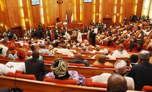 """The Senate has introduced a  bill which seeks to establish a  federal government agency to check hate speech in the country.  The bill, sponsored by a former Senate spokesperson, who is now the Deputy Senate Whip, Sabi Abdullahi,  passed first reading on the floor of the red chamber on Tuesday.  It is titled, """"National Commission for the Prohibition of Hate Speeches (Earn, etc) Bill 2019.  A similar bill sponsored by Abdullahi in the 8th Senate prescribed among others, death by hanging for anyone found guilty of the offence.  Details later…"""