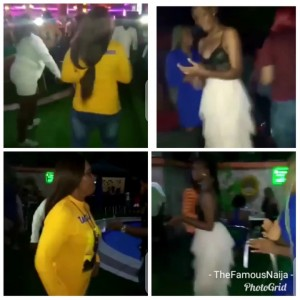 Here are more photos and videos of Nigerian ladies, sexy and classy slay queens dancing, rocking and having fun at BBNaija star, Tacha's pool party in Port Harcourt. The controversial, disqualified ex BBNaija housemate is waxing stronger day by day despite her scandalous exit from the BBNaija house. Sexy ladies/female fans stormed her pool party and showed their dance moves.