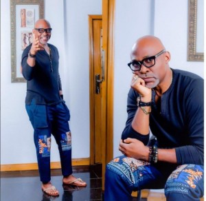 Upcoming UK based Nollywood actress, Timmy K Macnicol, has opened up on her obsession with veteran, handsome actor, Richard Mofe Damiji, AKA RMD.