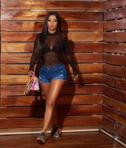 Actress and Media personality, Toke Makinwa posted these hot photos…
