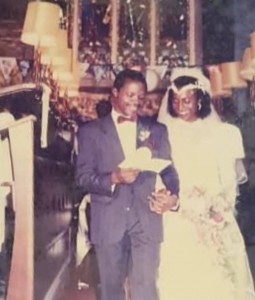 VP Yemi Osinbajo and wife, Dolapo, are celebrating their 30th wedding anniversary today November 25th, IgbereTV reports.  Mrs Osinbajo shared this throwback photo from their wedding day and wrote