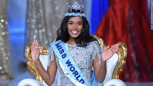 """A 23-year-old graduate from Jamaica has been named as Miss World 2019 winner. Jamaica's Toni-Ann Singh was crowned as Miss World 2019 on Saturday and said she wanted to use her title to work for""""sustainable change""""for women and their children."""
