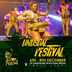 Lagos State set to have African International Music Festival Venue: La Champagne Tropicana, Ibeju Lekki.  And one of Nigerians best courteous fellow, presently in posi
