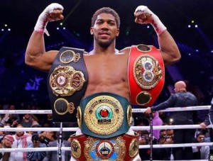 Amidst the family members jubilation, Joshua's fans rocked fireworks and blocked the Cinema Street in jubilation There was wild jubilation in Sagamu on Saturday night after Anthony Joshua regained the WBA, IBF, and WBO heavyweight titles by defeating Andy Ruiz Jr.