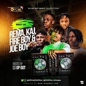 Download Music Mixtape Mp3:- DJ OP Dot – Best Of Rema, Fire Boy & Joeboy Mix