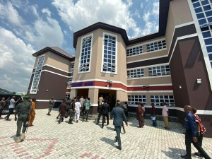 Founder of Salvation Ministries Church, Pastor David Ibiyeomie was on Monday 9th December commissioned a 100 room block female hostel he built for Rivers State own University, Ignatius Ajuru University.