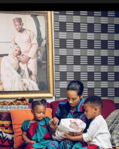 Mavin Records artiste, Dija and her husband Rotimi, have welcomed their third child.