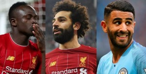 Liverpool pair Sadio Mane and Mohamed Salah, plus Riyad Mahrez from Manchester City, were named as the three candidates for this year's African Football