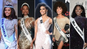 Miss USA, Miss America, Miss Teen USA, Miss Universe and now Miss World are all black women. Could black truly be beautiful?(CNN) – For the first time, top beauty pageants —