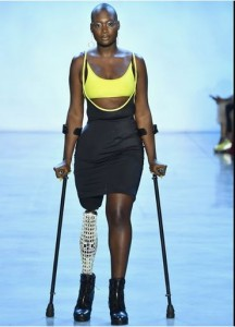 American-Haitian fashion model and activist, Cacsmy Brutus widely known as Mama Cax has died at the age of 30 after battling cancer for years. The cancer survivor and amputee die