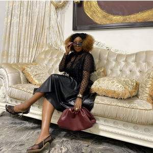 Ini Edo has continued to dish out fashion tips after sharing beautiful photos to usher in the new month. Popular Nollywood actress, Ini Edo has slayed in new photos she shared on her social media page. The actress shared photos looking adorable in black as she ushered her fans into the new month.