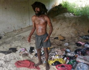 A suspected ritualist who was disguised as a mad man has been nabbed in a Delta state community. It has been reported that a suspected ritualist who is said to have disguised as a mad man, has been nabbed.