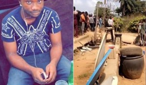 A tragic incident occurred atJuba Alaro Junction off Liasu road in Idimu area of Lagoson Monday November 25, as a tea vendor a.k.a Mai Shai's customer was stabbed to death following a heated argument overaN100 bread.