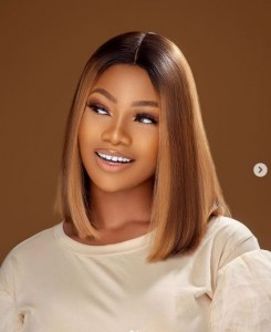 """Nigerian reality star, Anita Natacha Akide aka Tacha yesterday celebrated her birthday in style. The former BBNaija star who turned 24 on Monday shared beautiful photos to celebrate the special day.She took to her social media handle and wrote:""""24 ON THE THRONE"""""""