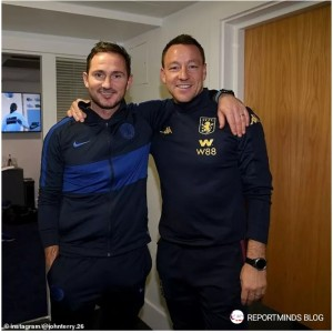 Chelsea legend John Terry revelled in his return to Stamford Bridge on Wednesday night despite Aston Villa suffering defeat. The former Blues captain was gi