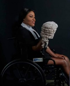 Miss Ufuoma Peace Oghenerume who was one of the two persons who survived the Benue Links tragedy that claimed over a dozen lives months ago at the Nasarawa Eggon hills, has finally secured her call to Nigerian Barristers Association which she.