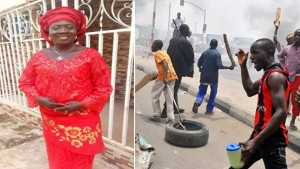 A suspect has given an explanation as to why he and others burnt a PDP Women leader to death in Kogi state. According to a report by Sun News, the man, Ocholli Edicha,  suspected to be the gang leader of those who led some political thugs to burn