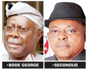 Chief Olabode George, a former deputy national chairman of the Peoples Democratic Party (PDP), said on Sunday that Prince Uche Secondus, national chairman of the party, would kill the party faster if he didn't put a halt to the ongoing impunity in the party.