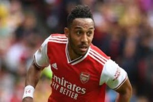"Pierre-Emerick Aubameyang has responded to speculation suggesting that he could soon head out of Arsenal by stating that he is ""100 per cent here""."