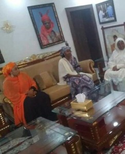 Hanan Buhari, the youngest daughter of President Muhammadu Buhari, on Thursday visited Bauchi on a