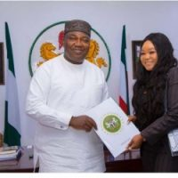 Beautiful famous actress Rachael Okonkwo just bag another appointment from the Enugu state government.