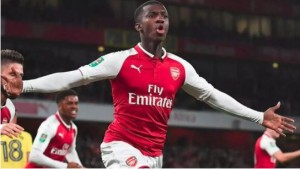 Arsenal head coach, Mikel Arteta, has hinted at starting Eddie Nketiah, when they play Chelsea at Stamford Bridge on Tuesday night, Goal reports. Nketiah was recalled from his loan s