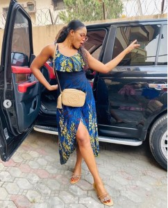 "Celebrity photographer, Busola Dakolo has taken to her social media page to show off her beautiful photos as she ushers in the new year. Busola, who is the wife of musician, Timi Dakolo shared the photos with the caption: ""Long throating Timi?"" See more photos below:"