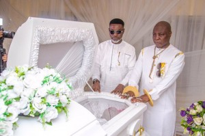 Popular entertainer, Charles Oputa better known as Charly Boy or Area Father on December 30th finally laid his mother, Margaret Oputa to rest.