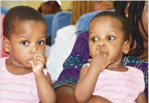 A conjoined set of twins that had one liver, a protruding tummy and a lower chest were successfully separated, in a 12-hour surgery involving 78 medical personnel, at the National medical center, Abuja.  The leader of the team that performed the surger
