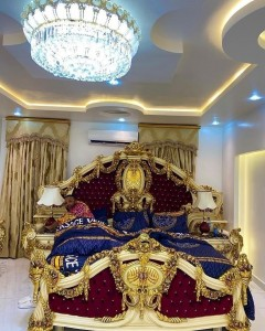 E-money Shows Off His Amazing Golden Bedroom (See Photos)