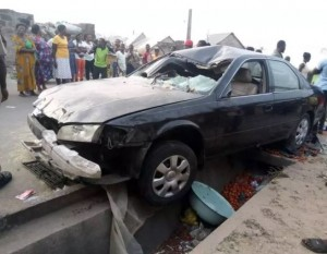 About eight persons were allegedly killed in a fatal car crash in a market in Ugep, Yakurr Local Government Area of Cross River State.