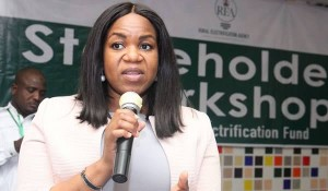 Immediate – past Managing Director of the Rural Electrification Agency , Ms Damilola Ogunbiyi, has assumed duty at her new job at the United Nations .