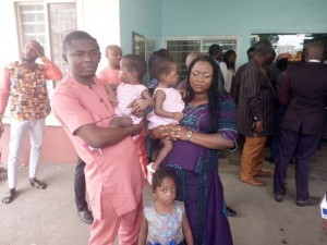 A pair of conjoined twins are finally living independent lives after a team of Nigerian medical experts spent 13 hours performing complex surgery to separate them in Abuja, the nation's capital.  Goodness and Mercy Martin