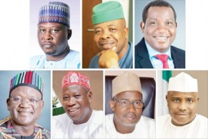 9, 2019 governorship polls while seven other governors await the determination of appeals challenging their elections.  The states whose govern