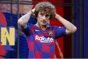 The Catalan club had looked certain to win the game, after Lionel Messi and Antoine Griezmann cancelled out Koke's opener.  Barcelona forward, Antoine Griezmann has bla