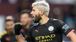 "Manchester City manager, Pep Guardiola, has hailed Sergio Aguero's consistency after the striker broke two Premier League records with a hat-trick against Aston Villa in a 6-1 win for City on Sunday.   Aguero's treble saw him overtake Alan Shearer with the most hat-tricks in the competitions' history.  He also went past Arsenal legend, Thierry Henry, to become the most prolific foreign goalscorer in the Premier League.  ""He (Henry) is a legend and a legend rose tonight,"" Guardiola told Sky Sports.  ""Henry is one of the most incredible players to play in this league and he will be proud that Sergio is the guy who broke his record.  ""He was a legend and Sergio is the same. To score this amount of goals means you have done a lot of good things for many years.  ""He's been consistent for many years and so we are proud of him."""