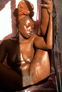 "WARNING:- This is an 18+ post, if you are below 18 years old kindly exit this post now!! Just surfing Twitter when I stumbled upon these photos of a Black lady who goes by the name ""Chocolate Cakes "" on twitter According to her, she just wants to show off her Skin so the world can know how beautiful it is to be black"