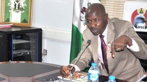 THE Acting Chairman of the Economic and Financial Crimes Commission, Mr. Ibrahim Magu, on Tuesday, described Rivers and Lagos States as the headquarters of money laundering in Nigeria.  Magu said that th