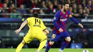 Barcelona captain, Lionel Messi has named Girona's Pablo Maffeo as one of the toughest defenders he has come up across in his glittering career.