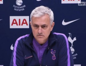 """Tottenham manager, Jose Mourinho, has claimed his attacking players must be """"very frustrated"""", by how the team are conceding goals. Spurs were held to a 2-2 draw by Norwich City on Saturday."""