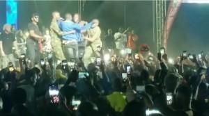 Naira Marley Performs In Anambra, Excites Crowd (Pictures) Fans go crazy as Naira Marley performs:- Photos below: