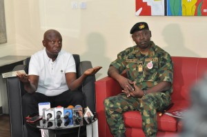 Hon. Prince Ned Nwoko has received top ranking officers of the Defence Headquarters ahead of extensive collaborations to foster the efficie