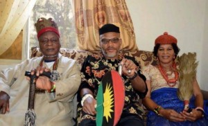 Leader of Indigenous People of Biafra (IPOB) has announced his plan to attend the burial of his parents slated for February 14, 2020. Kanu who spoke throu