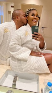 Nigerian actress, Chizzy Alichi and her husband are having the best of time while on honeymoon. Months after getting married to her s