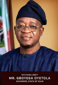 Osun State Governor, Adegboyega Oyetola on Friday called on security agencies in Nigeria to remain committed, loyal and demonstrate a high level of integrity in discharging their constitutional responsibilities.  He spo