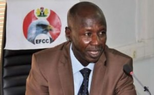 The Acting Chairman of the Economic And Financial Crimes Commission, EFCC, Mr Ibrahim Magu has warned illegal oil bu